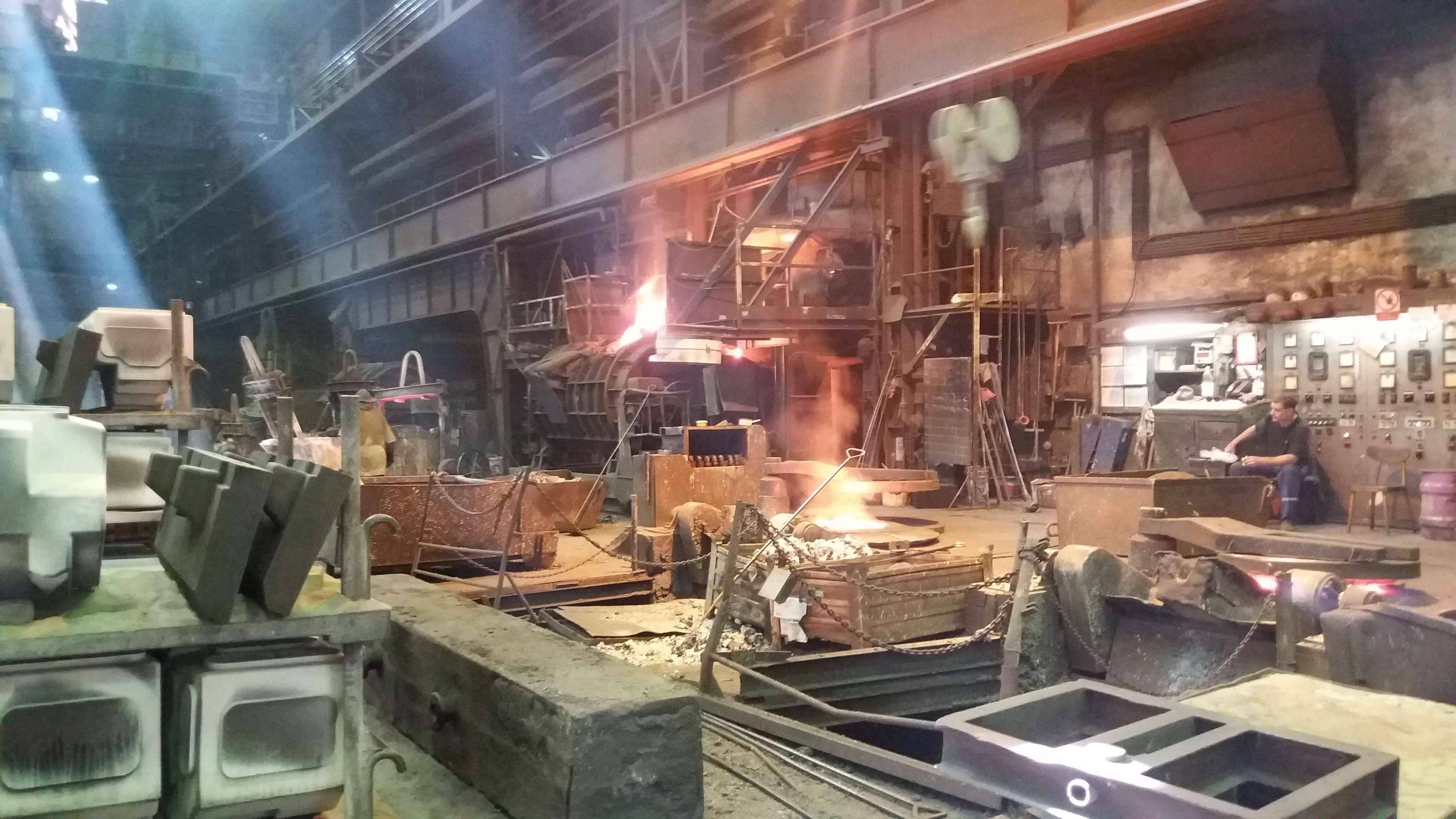 Работа на металлургическом заводе в Чехии