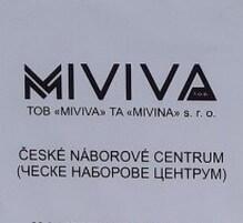 Фирма Mivina открыла дочернюю фирму Miviva в Украине